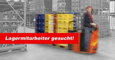 Stellenangebot Lagermitarbeiter Lagerhelfer - arbeite für Getränke Reichle!